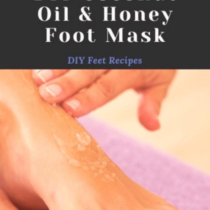 coconut oil foot mask treatment